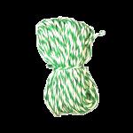 Шпагат для колбас хб бело-зеленый 20 м