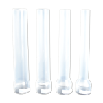 Набор пластиковых насадок на вертикальные колбасные шприцы 2,5 и 3 кг